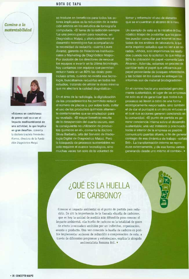 Concepto Maipú - Camino a la Sustentabilidad